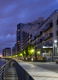 Glasgow Harbour apartments