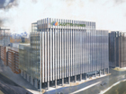 Initial impression of ScottishPower's new office complex in Glasgow
