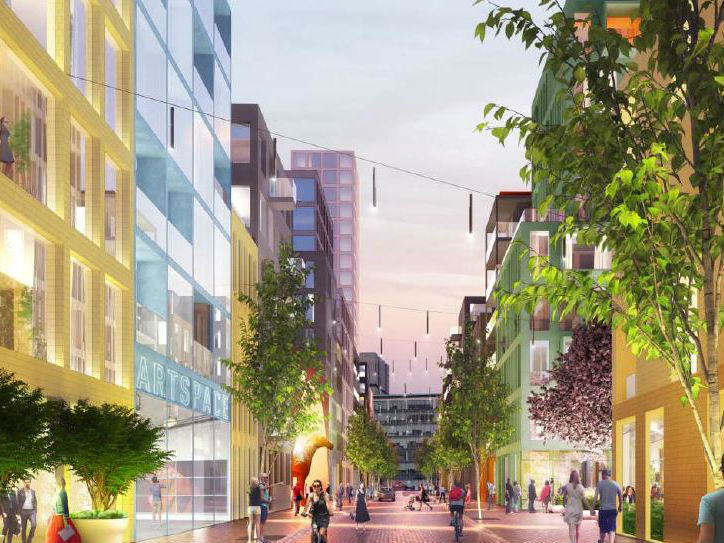 Proposals launched for Broomielaw regeneration