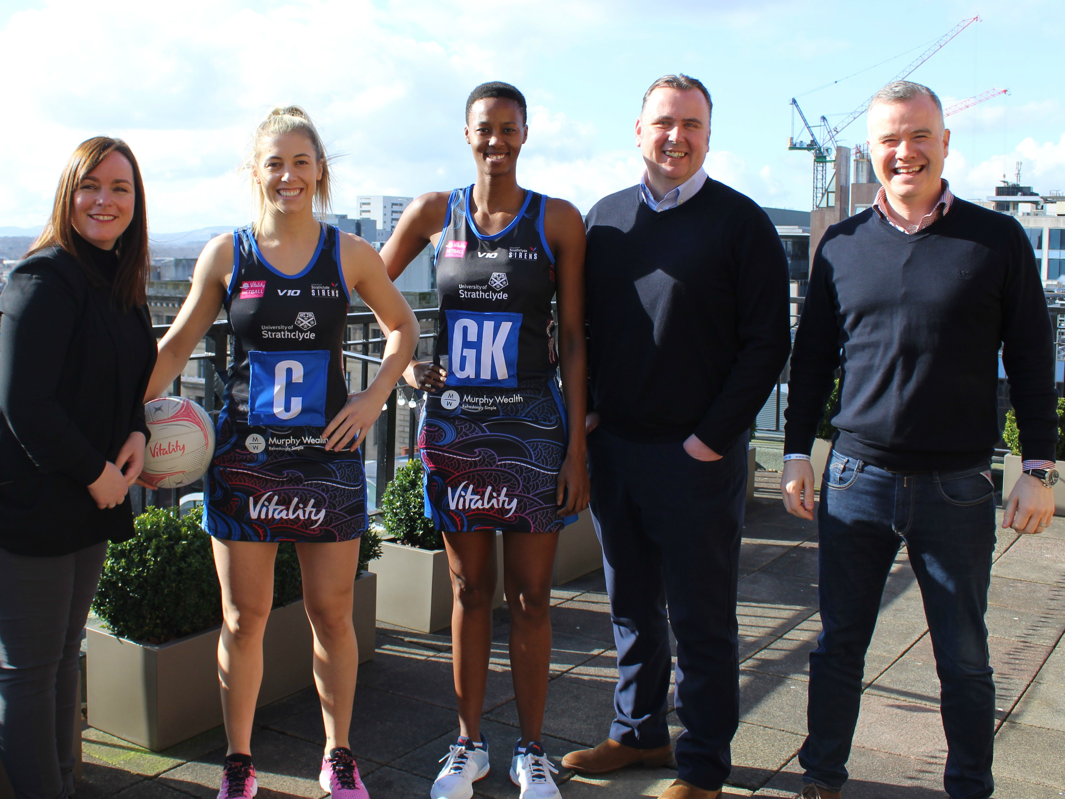 Sirens team up with Murphy Wealth